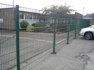 Metal Twin Wire Fencing