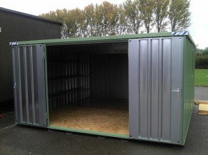 Large Metal Storage Container