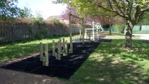 Activity Trail on Grass Matting