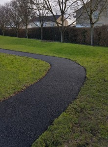 Wet Pour Rubber Surface Walk-a-Mile