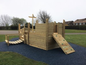 Pirate Ship with Ramp