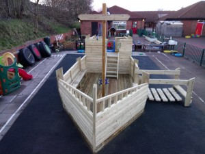 Pirate Ship with Slide